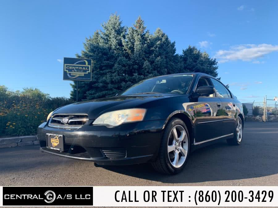 Used 2007 Subaru Legacy Sedan in East Windsor, Connecticut | Central A/S LLC. East Windsor, Connecticut
