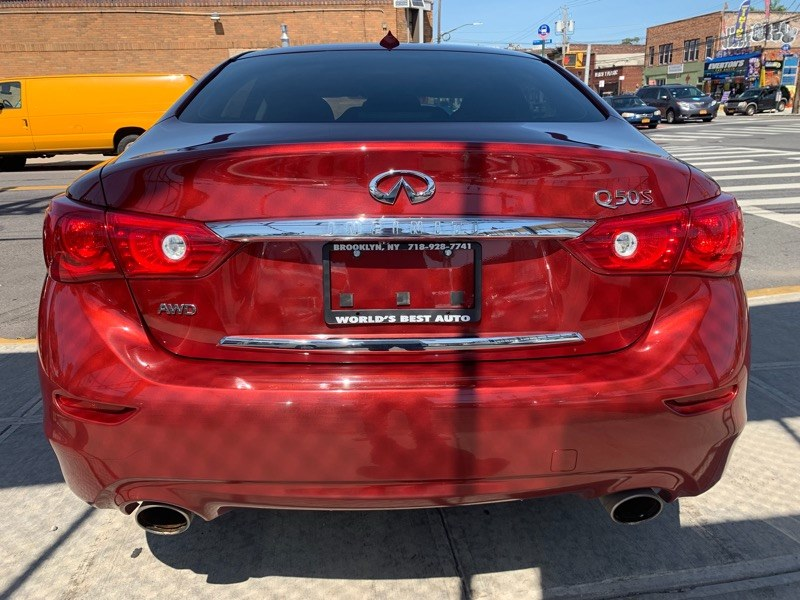2015 INFINITI Q50 4dr Sdn Sport AWD, available for sale in Brooklyn, NY