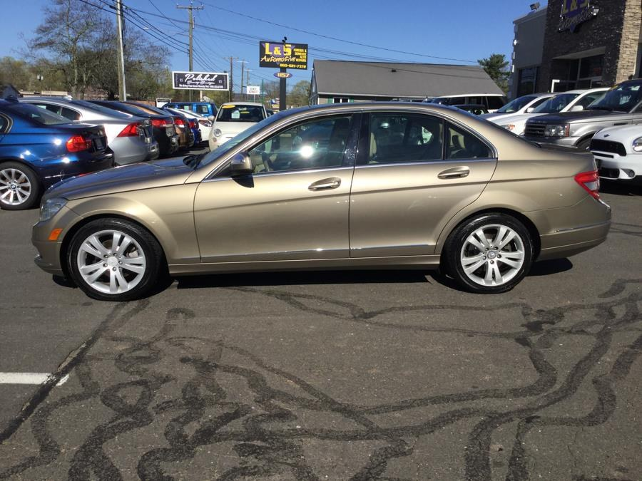 2008 Mercedes-Benz C-Class 4dr Sdn 3.0L Luxury 4MATIC, available for sale in Plantsville, Connecticut | L&S Automotive LLC. Plantsville, Connecticut