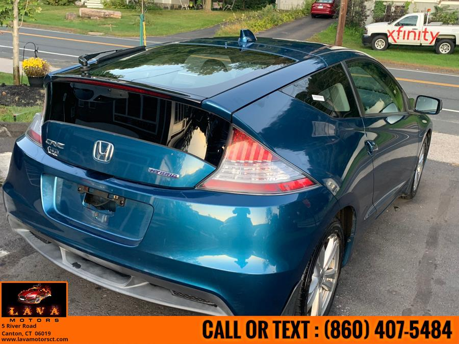 Used Honda CR-Z 3dr CVT EX w/Navi 2011   Lava Motors. Canton, Connecticut