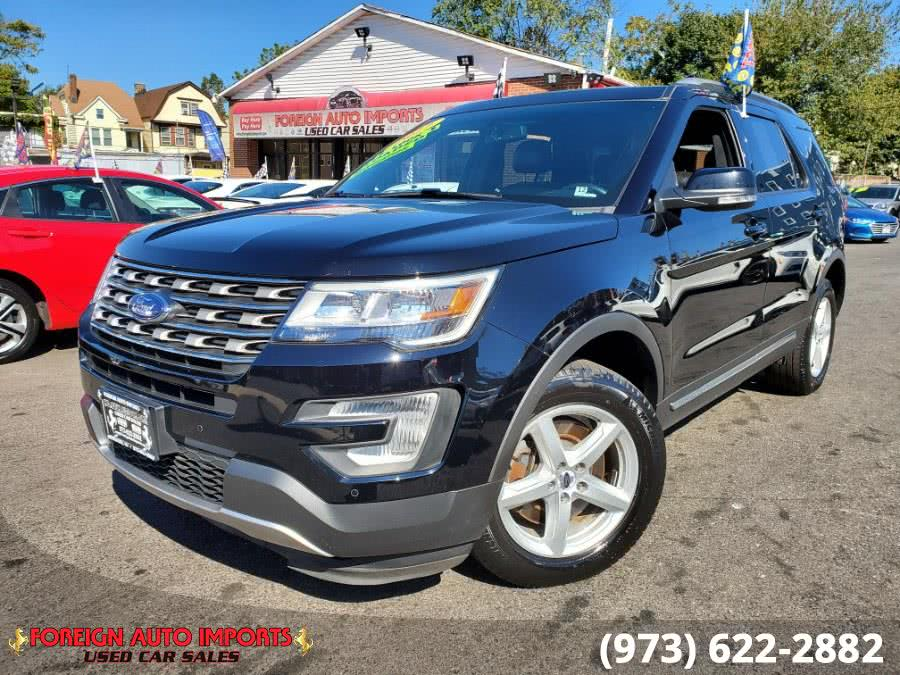 Used Ford Explorer XLT 4WD 2017 | Foreign Auto Imports. Irvington, New Jersey
