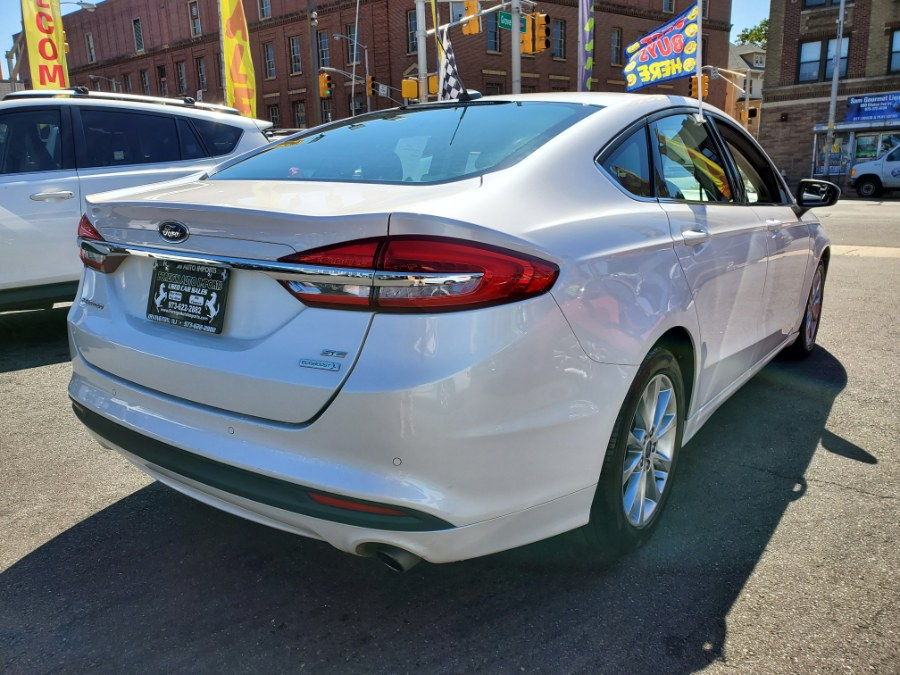 2017 Ford Fusion SE FWD, available for sale in Irvington, New Jersey | Foreign Auto Imports. Irvington, New Jersey