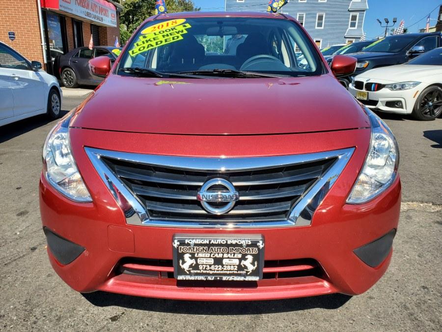 2018 Nissan Versa Sedan SV CVT, available for sale in Irvington, New Jersey   Foreign Auto Imports. Irvington, New Jersey
