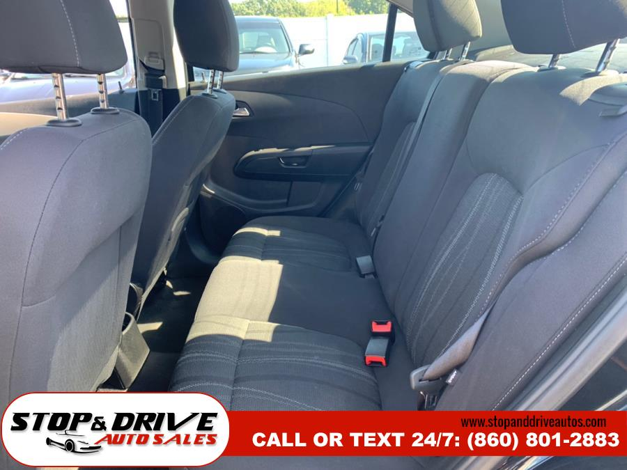 2013 Chevrolet Sonic 4dr Sdn Auto LT, available for sale in East Windsor, Connecticut | Stop & Drive Auto Sales. East Windsor, Connecticut