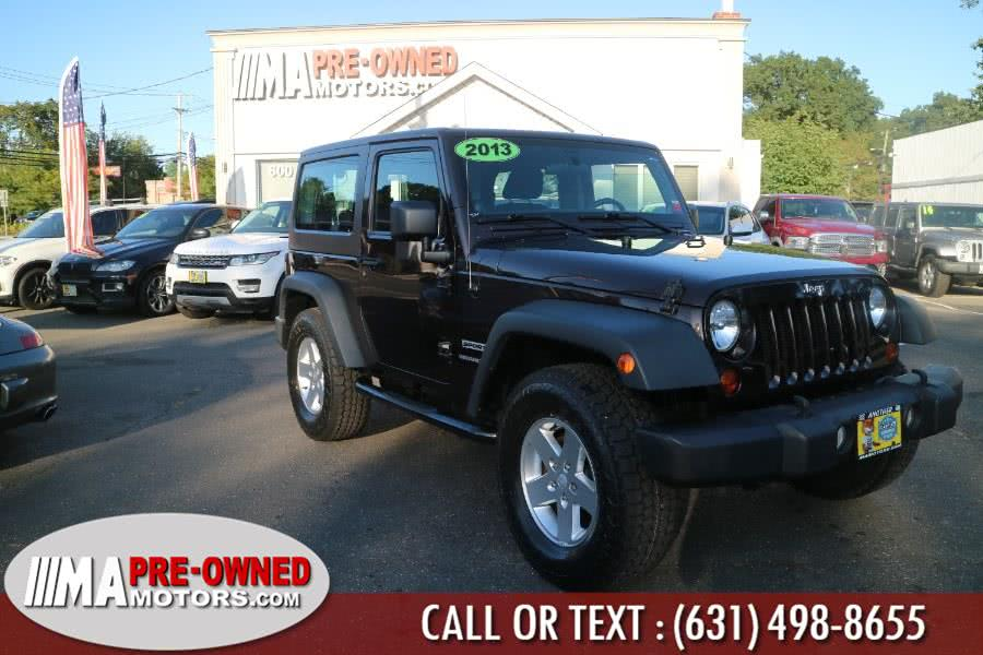 Used Jeep Wrangler 4WD 2dr Sport 2013 | M & A Motors. Huntington, New York