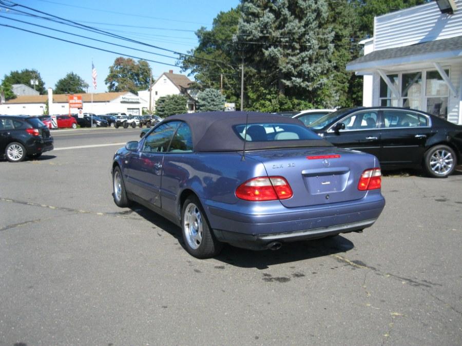 1999 Mercedes-Benz CLK-Class 2dr Cabriolet 3.2L, available for sale in Plainville, Connecticut | CK Autos. Plainville, Connecticut