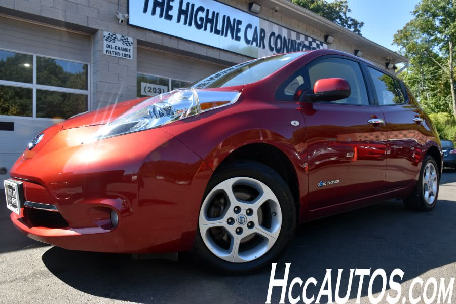 2012 Nissan LEAF 4dr HB, available for sale in Waterbury, Connecticut | Highline Car Connection. Waterbury, Connecticut