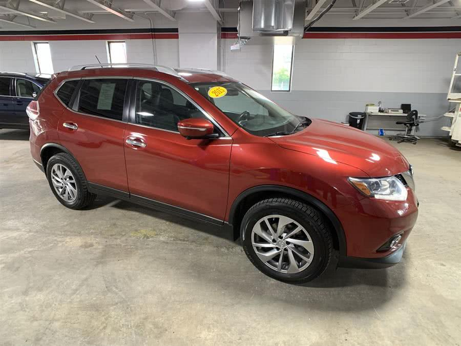 Used Nissan Rogue AWD 4dr SV 2015 | Wiz Leasing Inc. Stratford, Connecticut