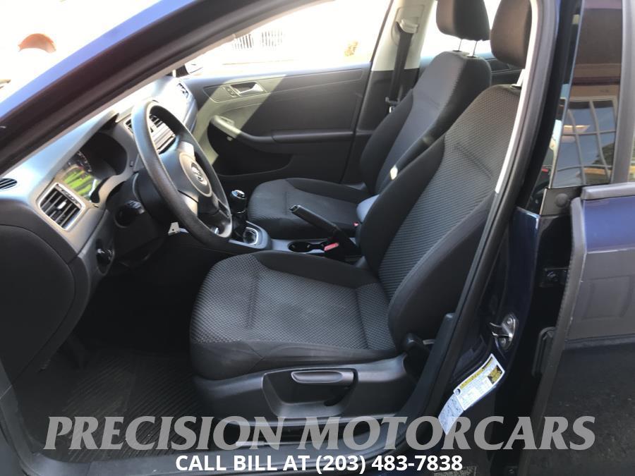 2013 Volkswagen Jetta Sedan 4dr Man S, available for sale in Branford, Connecticut | Precision Motor Cars LLC. Branford, Connecticut