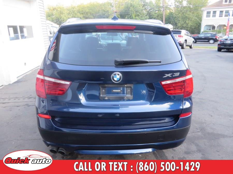 2013 BMW X3 AWD 4dr xDrive28i, available for sale in Bristol, Connecticut   Quick Auto LLC. Bristol, Connecticut