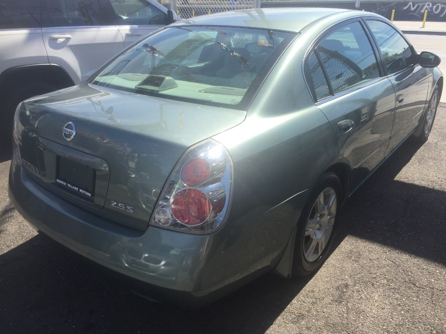 2005 Nissan Altima 4dr Sdn I4 Auto 2.5 S, available for sale in Middle Village, New York | Middle Village Motors . Middle Village, New York