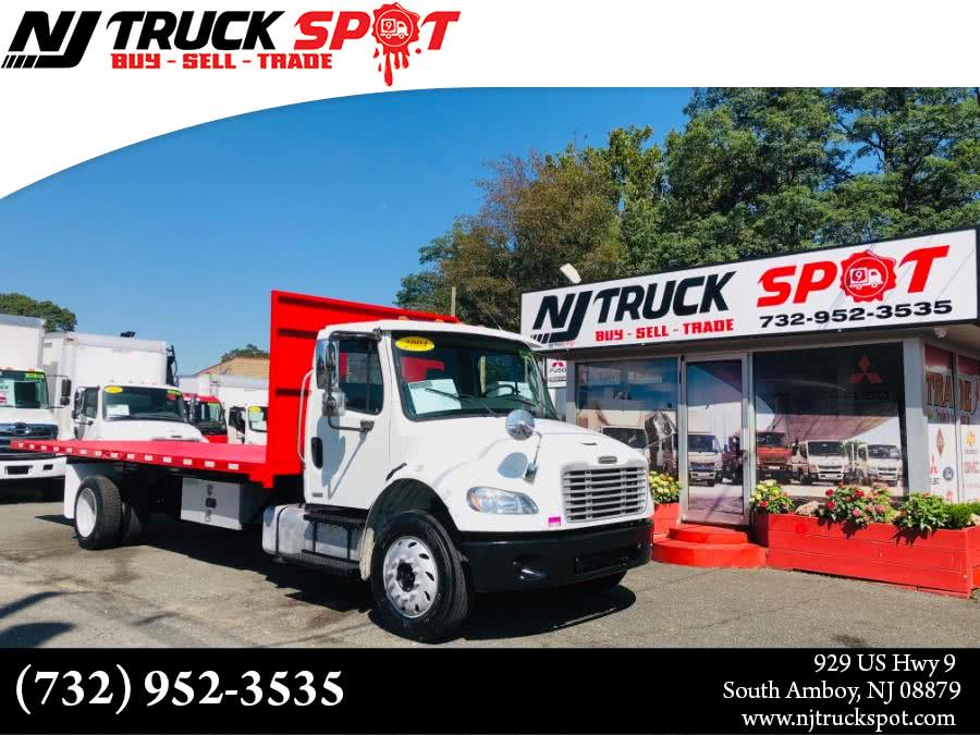 Used Freightliner M2 106 MERCEDES ENGINE 24 FEET FLAT BED MANUAL 2004 | NJ Truck Spot. South Amboy, New Jersey
