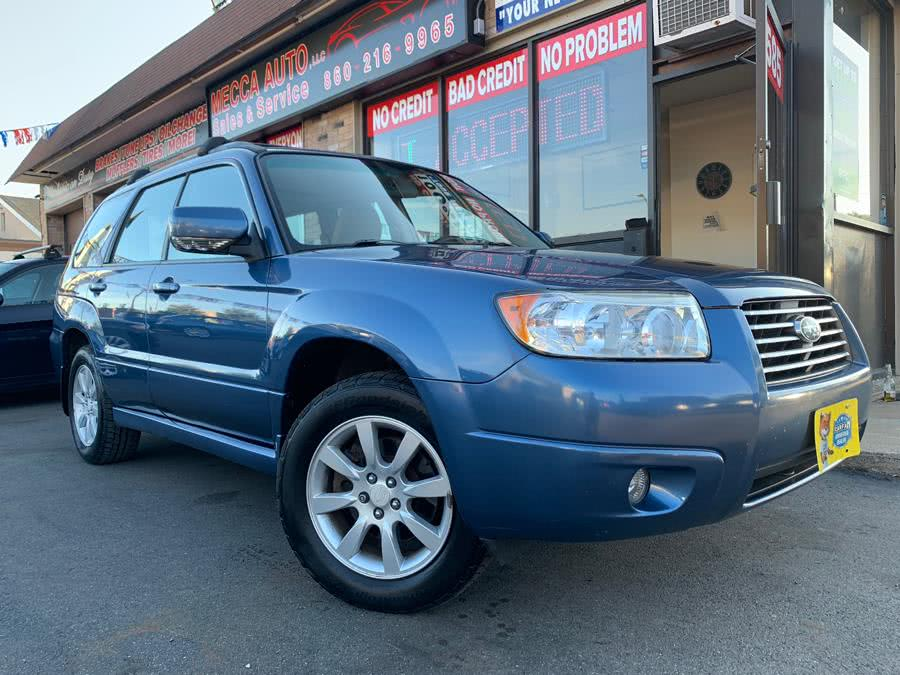 Used 2007 Subaru Forester in Hartford, Connecticut | Mecca Auto LLC. Hartford, Connecticut