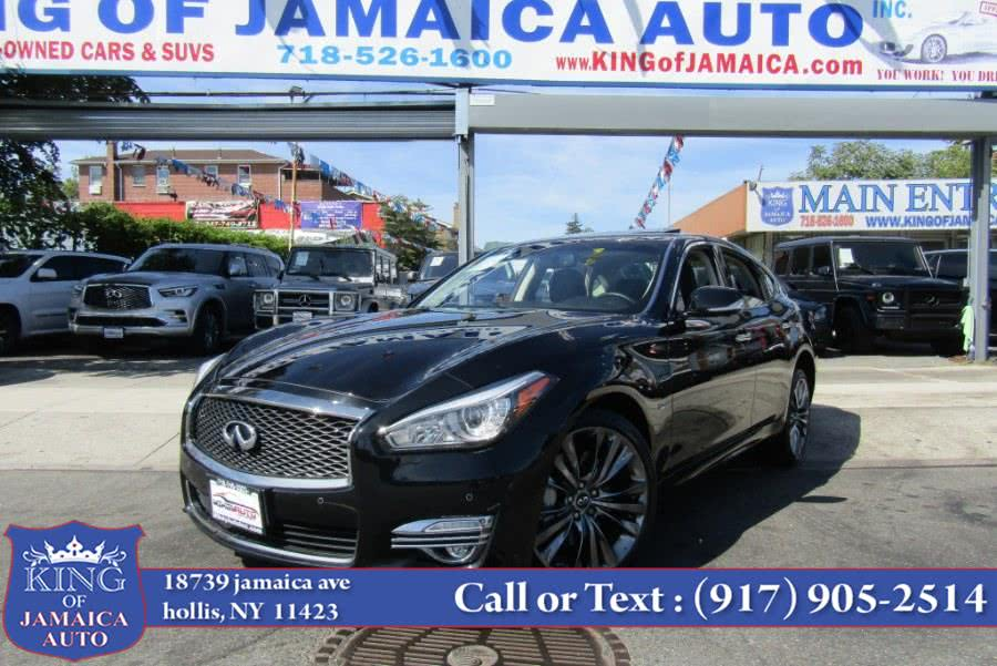 Used 2017 INFINITI Q70 in Hollis, New York | King of Jamaica Auto Inc. Hollis, New York