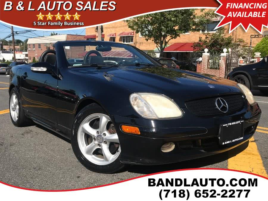 2002 Mercedes-Benz SLK-Class 2dr Roadster 3.2L, available for sale in Bronx, NY