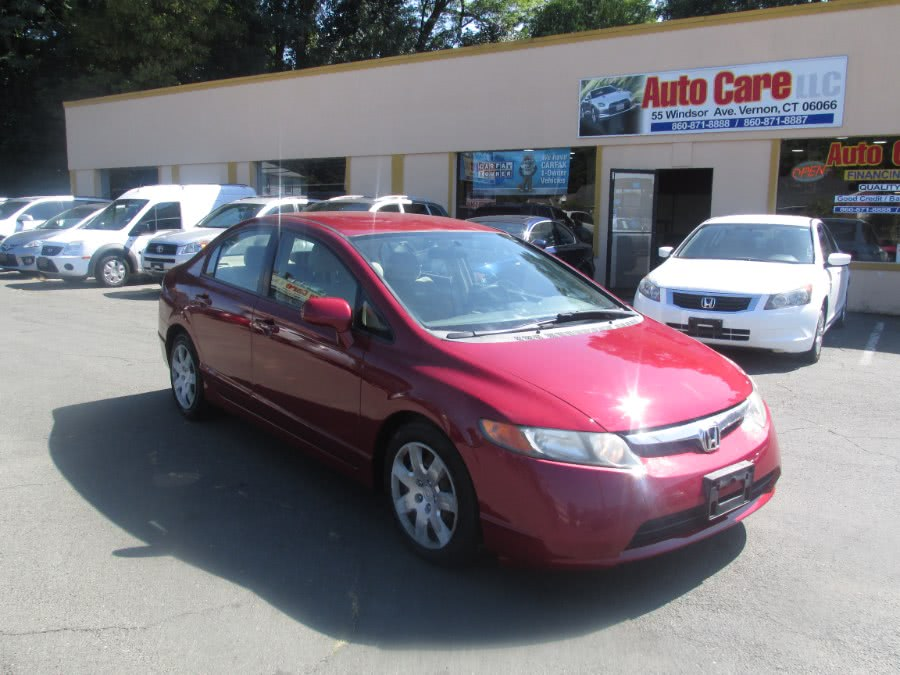 Used 2006 Honda Civic Sdn in Vernon , Connecticut | Auto Care Motors. Vernon , Connecticut
