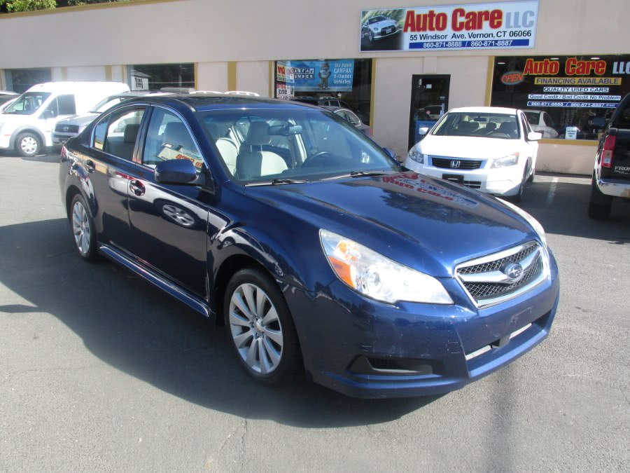 Used Subaru Legacy 4dr Sdn H4 Auto Limited Pwr Moon 2010 | Auto Care Motors. Vernon , Connecticut