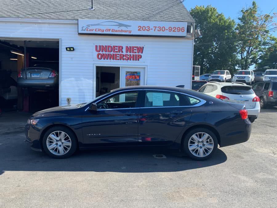 2015 Chevrolet Impala 4dr Sdn LS w/1FL, available for sale in Danbury, Connecticut | Car City of Danbury, LLC. Danbury, Connecticut