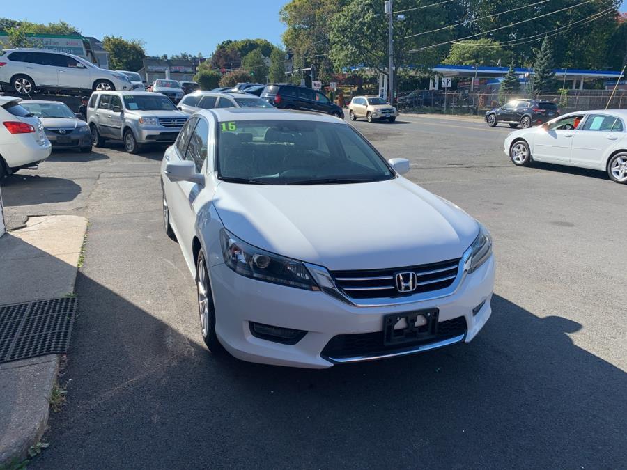 Used Honda Accord EX-L V6 Sedan 2015 | Car City of Danbury, LLC. Danbury, Connecticut