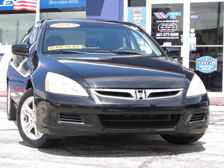 Used 2007 Honda Accord Sdn in Orlando, Florida | VIP Auto Enterprise, Inc. Orlando, Florida