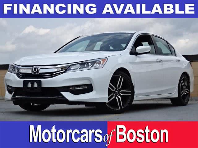 Used 2017 Honda Accord Sedan in Newton, Massachusetts | Motorcars of Boston. Newton, Massachusetts