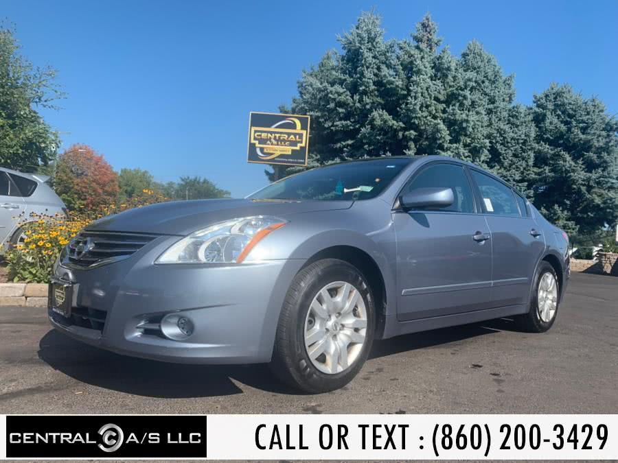 Used Nissan Altima 4dr Sdn I4 CVT 2.5 S 2010 | Central A/S LLC. East Windsor, Connecticut