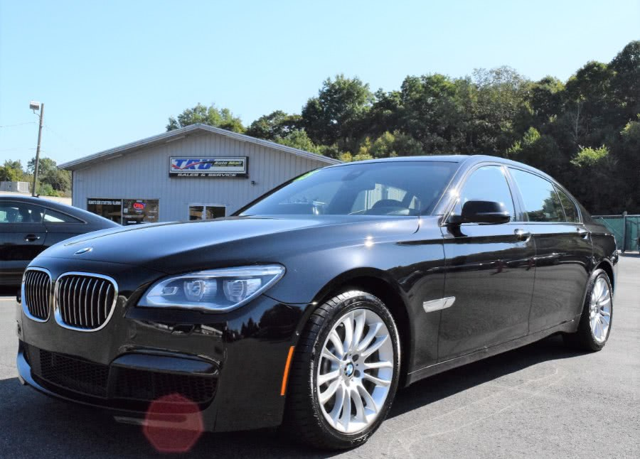 2015 BMW 7 Series 4dr Sdn 750Li xDrive AWD, available for sale in Berlin, Connecticut | Tru Auto Mall. Berlin, Connecticut
