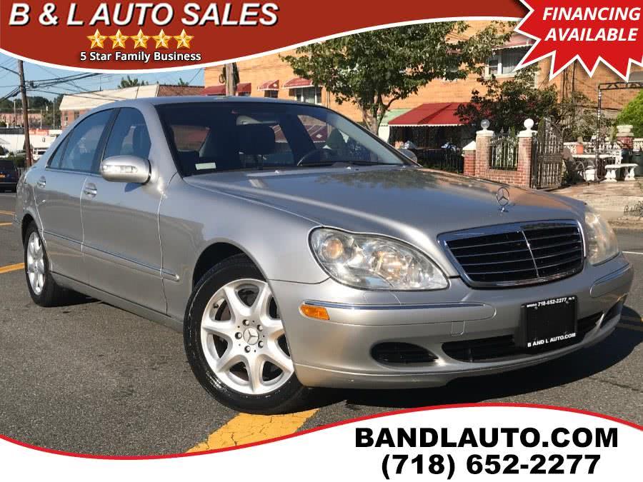 Used 2004 Mercedes-Benz S-Class in Bronx, New York | B & L Auto Sales LLC. Bronx, New York