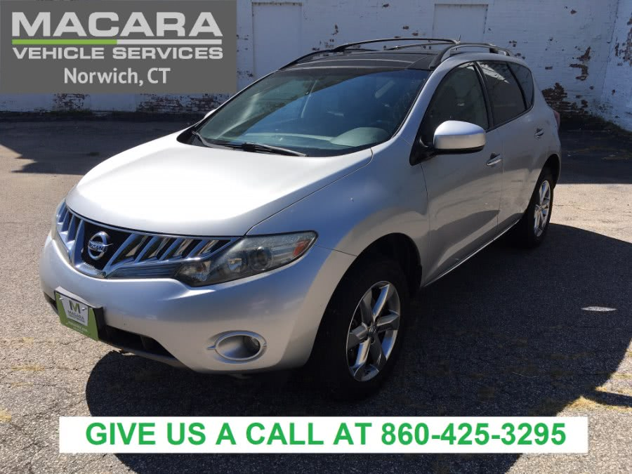 2010 Nissan Murano AWD 4dr SL, available for sale in Norwich, Connecticut | MACARA Vehicle Services, Inc. Norwich, Connecticut