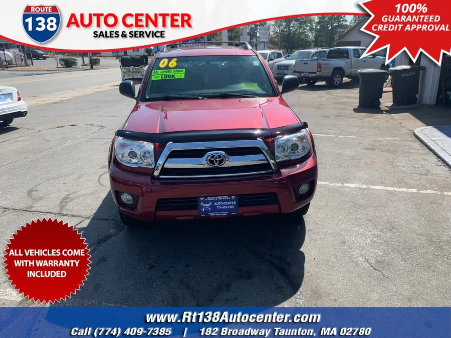Used 2006 Toyota 4Runner in Taunton, Massachusetts | Rt 138 Auto Center Inc . Taunton, Massachusetts
