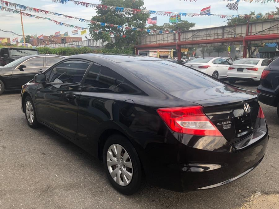 2012 Honda Civic Cpe 2dr Auto LX, available for sale in Hollis, New York | Authentic Autos LLC. Hollis, New York