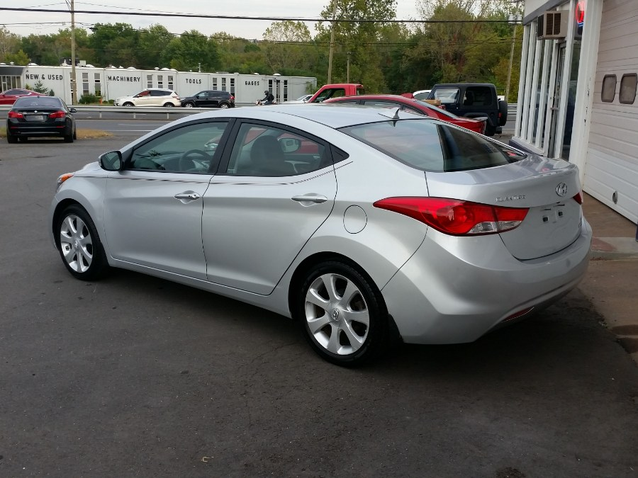 2013 Hyundai Elantra 4dr Sdn Auto Limited, available for sale in Berlin, Connecticut | Action Automotive. Berlin, Connecticut