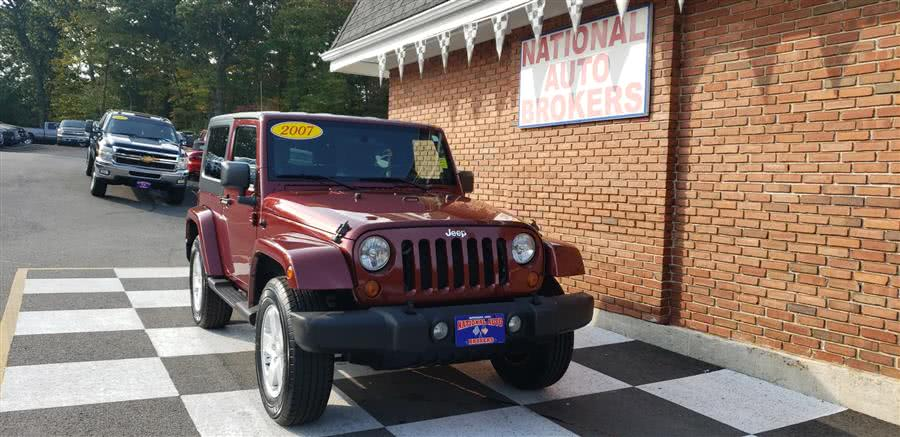 Used Jeep Wrangler 4WD 2dr Sahara 2007 | National Auto Brokers, Inc.. Waterbury, Connecticut