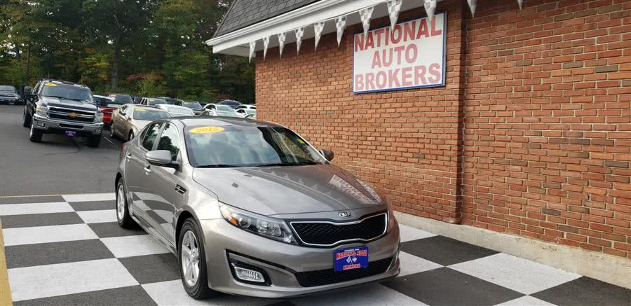Used Kia Optima 4dr Sdn LX 2015 | National Auto Brokers, Inc.. Waterbury, Connecticut