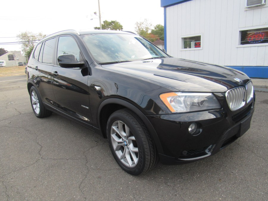 2012 BMW X3 AWD 4dr 35i, available for sale in Hamden, Connecticut | Northeast Motor Car. Hamden, Connecticut