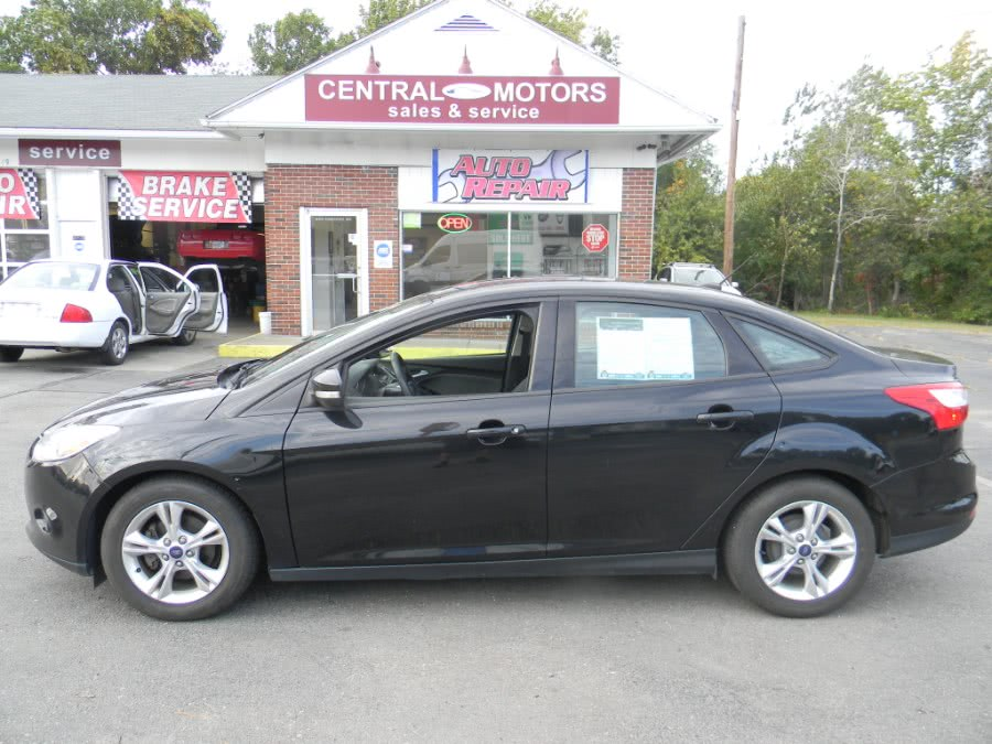 Used Ford Focus 4dr Sdn SE 2014 | M&M Vehicles Inc dba Central Motors. Southborough, Massachusetts