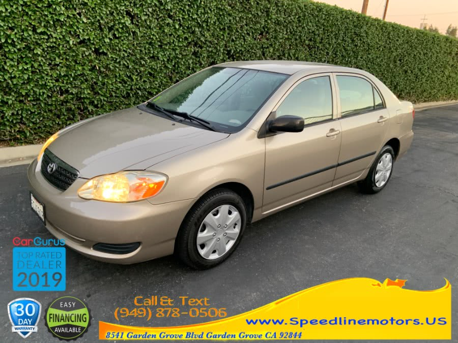 Used 2005 Toyota Corolla in Garden Grove, California | Speedline Motors. Garden Grove, California