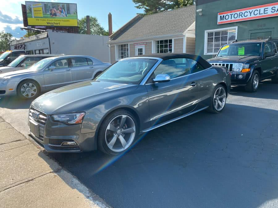 Used Audi S5 2dr Cabriolet Premium Plus 2015 | Village Auto Sales. Milford, Connecticut