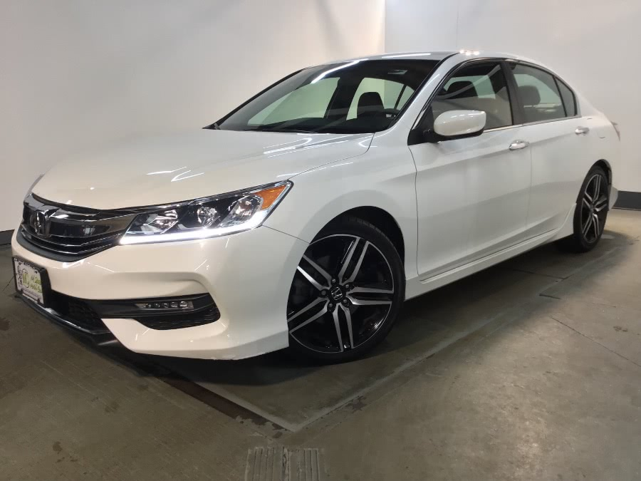 Used Honda Accord Sedan Sport CVT 2017 | M Sport Motor Car. Hillside, New Jersey