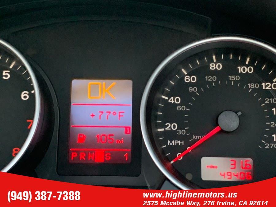 Used Audi A4 Cabrio Auto 2.0T quattro 2007 | High Line Motors LLC. Irvine, California
