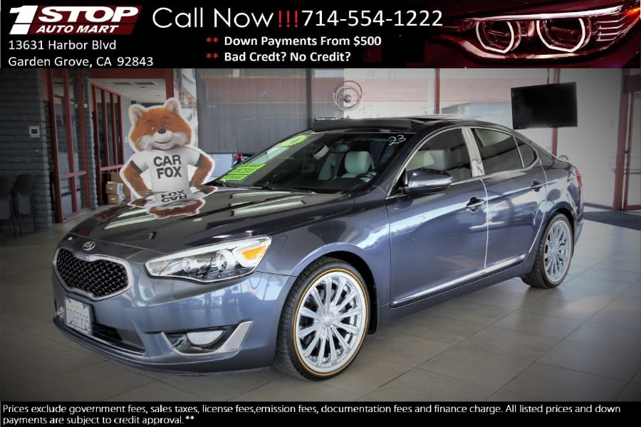 2014 Kia Cadenza 4dr Sdn Limited, available for sale in Garden Grove, California | 1 Stop Auto Mart Inc.. Garden Grove, California