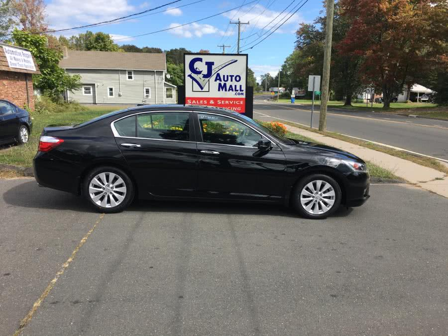 Used Honda Accord Sedan 4dr I4 CVT EX-L w/Navi 2014 | CJ Auto Mall. Bristol , Connecticut