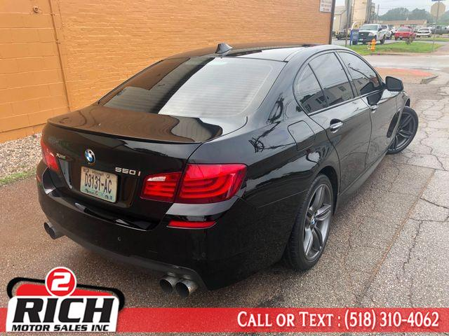 2013 BMW 5 Series 4dr Sdn 550i xDrive AWD, available for sale in Bronx, New York | 2 Rich Motor Sales Inc. Bronx, New York