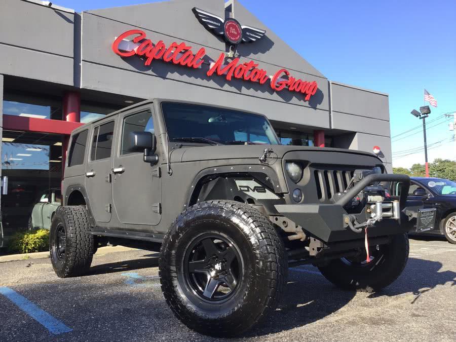 Used Jeep Wrangler Unlimited 4WD 4dr Sahara 2015 | Capital Motor Group Inc. Medford, New York