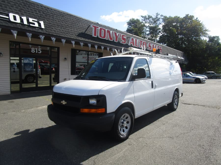 "Used Chevrolet Express Cargo Van RWD 1500 135"" 2009 | Tony's Auto Sales. Waterbury, Connecticut"
