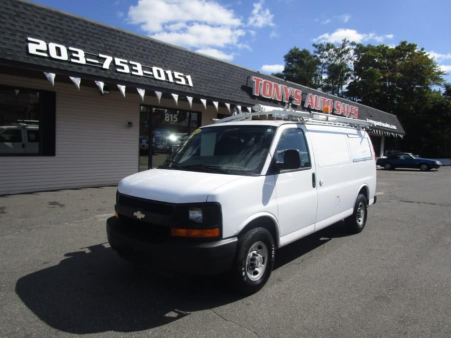 Used 2008 Chevrolet Express Cargo Van in Waterbury, Connecticut | Tony's Auto Sales. Waterbury, Connecticut