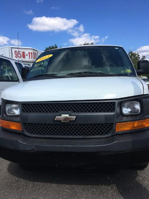 Used 2013 Chevrolet Express Cargo Van in Lindenhurst, New York | The Van Depot Inc.. Lindenhurst, New York