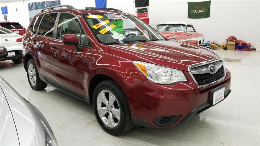 2015 Subaru Forester 4dr Auto 2.5i Premium PZEV, available for sale in West Haven, CT