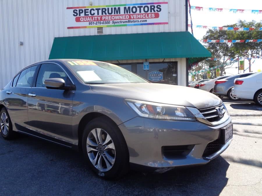 Used 2013 Honda Accord Sdn in Corona, California | Spectrum Motors. Corona, California