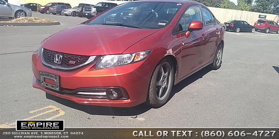 Used Honda Civic Sdn 4dr Man Si 2013 | Empire Auto Wholesalers. S.Windsor, Connecticut